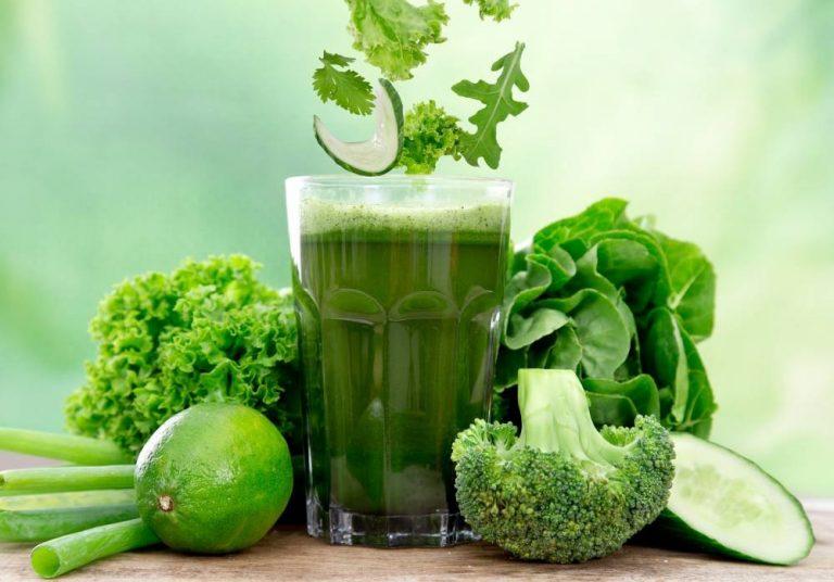 Zeleni hranljivi sokovi